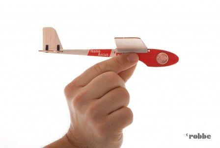 NANO-ARCUS KIT Free Flight Model Glider (200 mm) - EuropeModels.EU