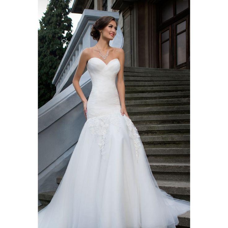 Luxusné dlhé korzetové šaty s čipkou na sukni