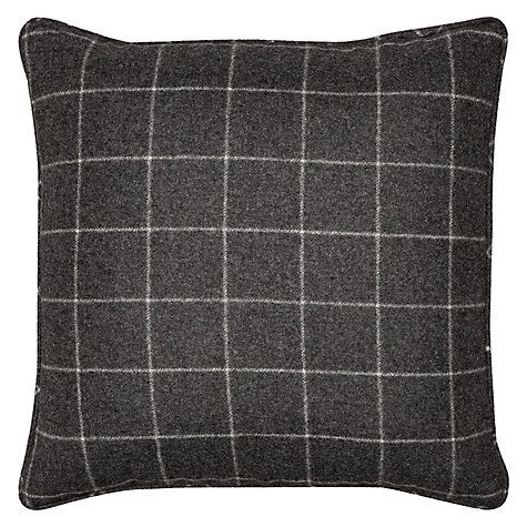 Buy Moon Flannel Check Cushion Online at johnlewis.com