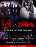 Metal music legends,KORNandROB ZOMBIE, unveiled details behind their co-headlining summer 2016 tour. Produced by Live Nation, the two influential bands will launch this summer's most anticipated metal music tour onJuly 19, 2016at Fiddler's Green Amphitheatre in Englewood, Colo. and will visit 26 North American cities including Austin, Los Angeles, San Francisco, Toronto, Seattle, Las Vegas and more. A complete list of dates, venues and cities is below.In This Momentwill join the…