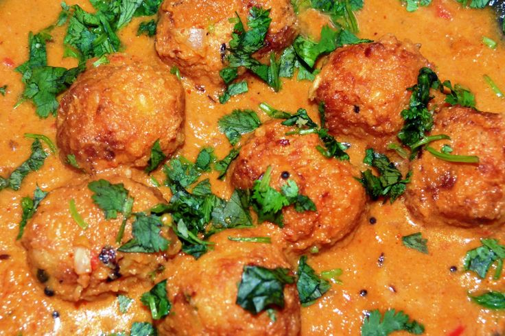 CABBAGE KOFTA cURRY | CURRIED CABBAGE DUMPLINGS