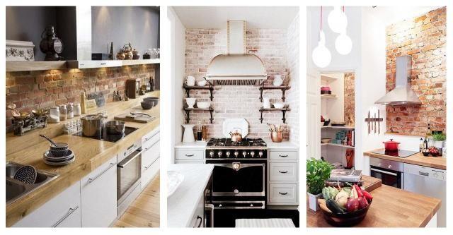 Pomysły na wykorzystanie cegieł w kuchni #CEGŁA W KUCHNI #KUCHNIA #CEGŁA #POMYSŁY #INSPIRACJE