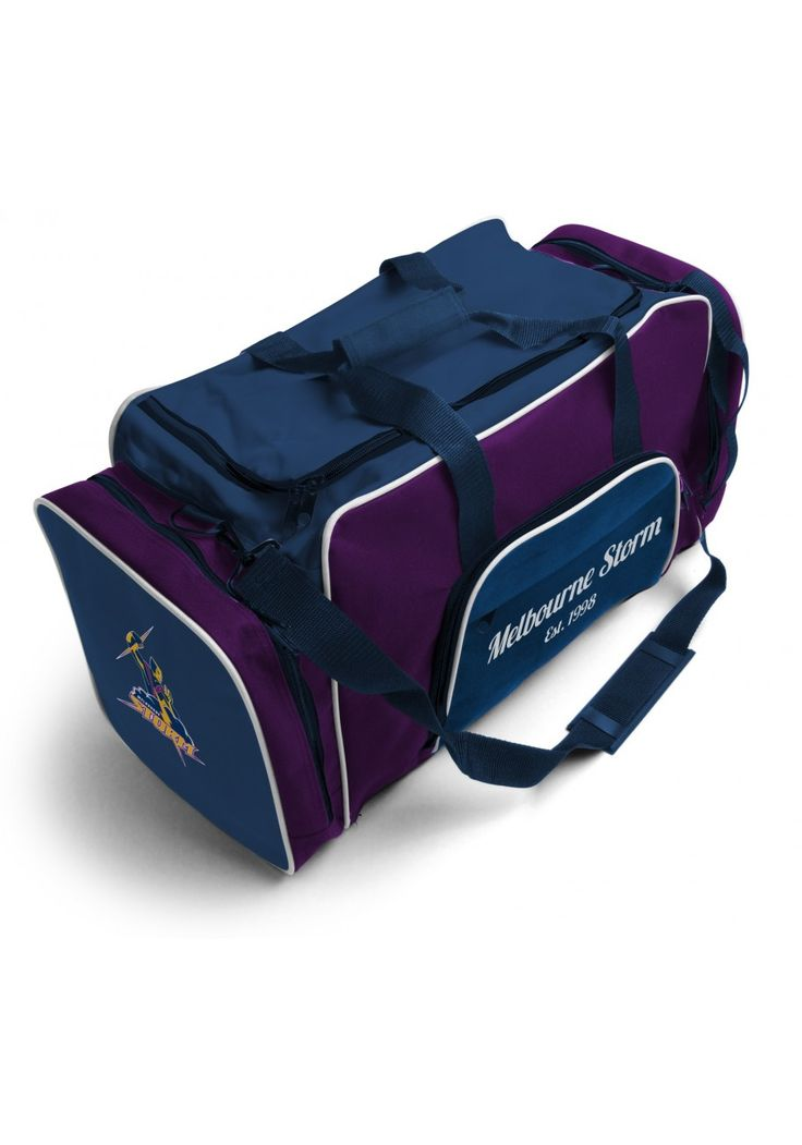 Melbourne Storm NRL Team Logo Two Tone Sports Training Bag