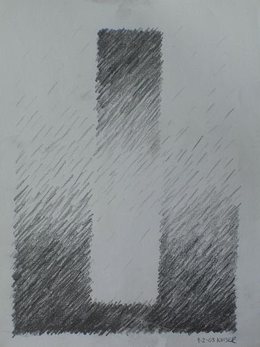Age 12 ~ Drawing ~ Black & White