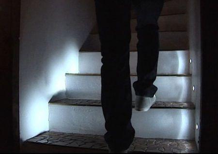led stair lighting. diy motion sensing led steps staircase lights up as you climb or descend led stair lighting