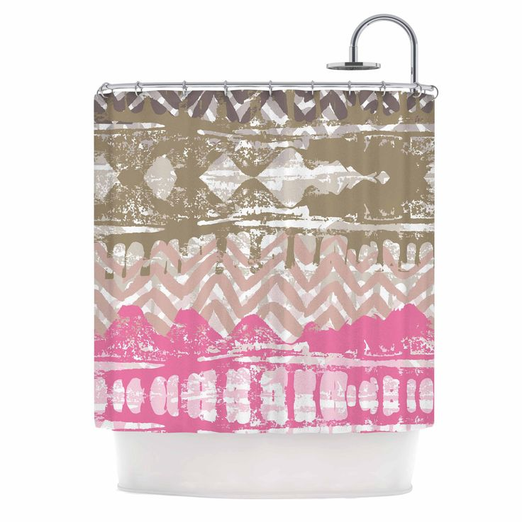 pink and gold shower curtain. Chickaprint  Allegro Pink Gold Shower Curtain Best 25 shower curtain ideas on Pinterest