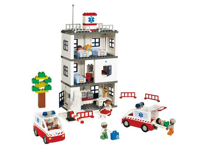 Lego Duplo 9226 ziekenhuis