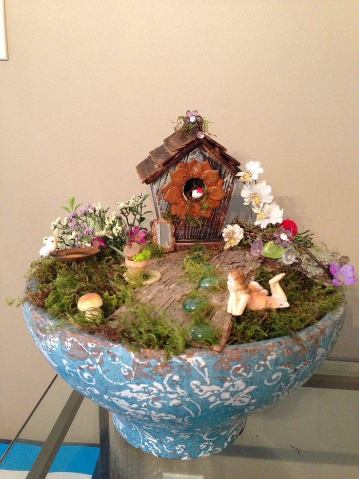 My fairy garden design.