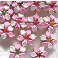marshmallow flowers marshmellow flower cupcakes decorating cakes ...