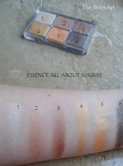 Essence All About Sunrise Palette