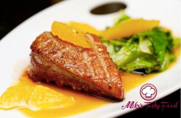Petto d'anatra all'arancio – Mike's Tasty Food