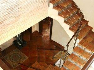 Escalera peldaño 22x36x2 cm       ldaños de barro cocido - ladrillo hecho a mano - ladrillo de valentin - escaleras artesanales