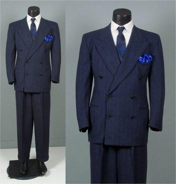 19 best 1920-1940 images on Pinterest | Mens suits, 1930s style ...