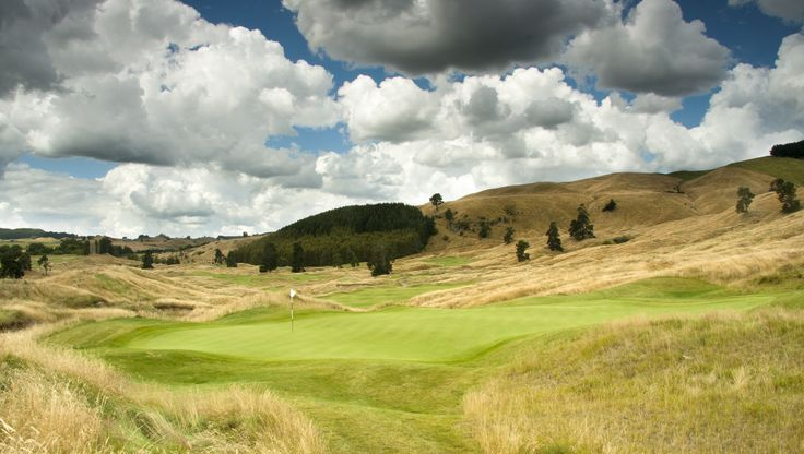 The 9th hole at The Kinloch Club Golf Course
