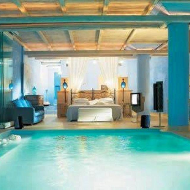 Traum schlafzimmer mit pool  138 besten Beds Bilder auf Pinterest | Schlafzimmer ideen, Suche ...