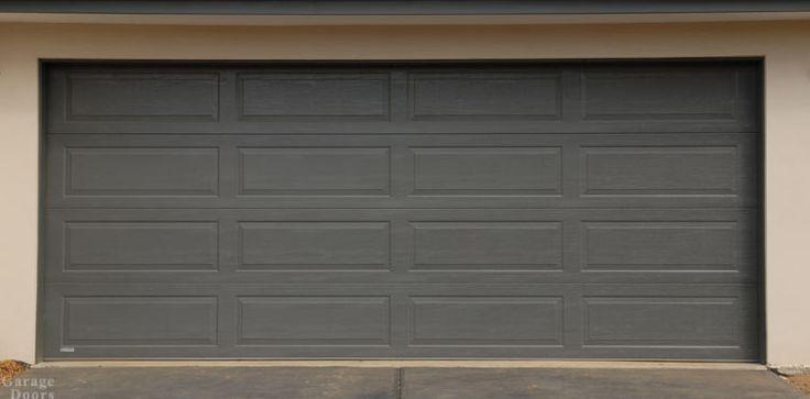 Garage Door design in Colorbond Woodland Grey