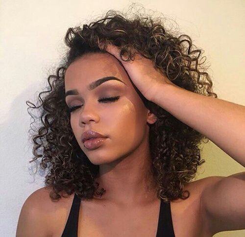 Magnificent 1000 Ideas About Black Curly Hairstyles On Pinterest Curly Hairstyles For Women Draintrainus