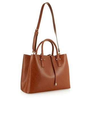 Classic Bucket Tote Bag Brown Accessorize Wardrobe Wants Pinterest Bags And Women S Accessories