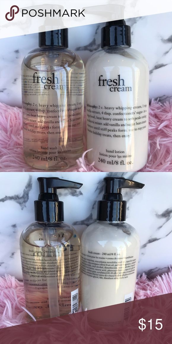 🌻 Fresh cream Lotion & Hand wash! The lotion had been pumped once  other then…