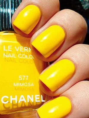 I love mimosas...and this color!