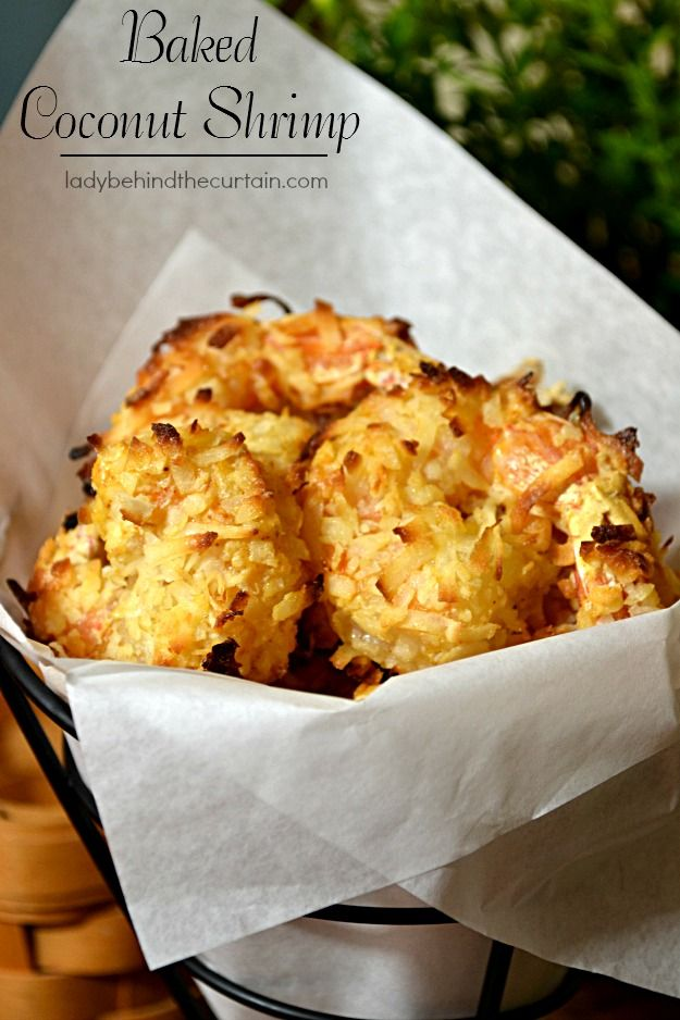 Baked Coconut Shrimp on MyRecipeMagic.com