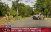 Presidentes Jardines Del Norte Niegan Ola De Terror Y Atracos Por El Sector #Video