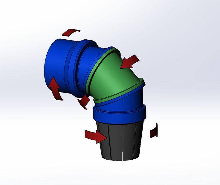 F-35B thrust vectoring nozzle - SOLIDWORKS,STEP / IGES - 3D CAD model - GrabCAD