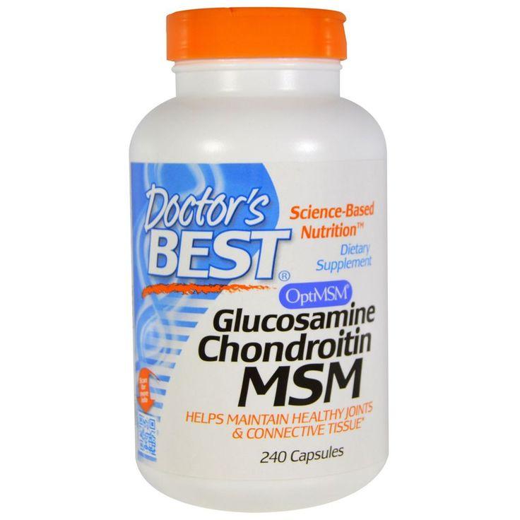 Doctor s Best, Glucosamine Chondroitin MSM, 240 Capsules
