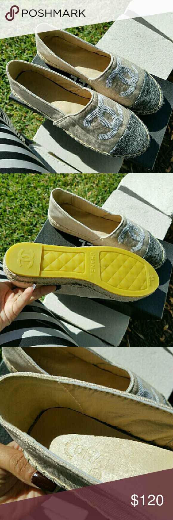 Chanel Espadrilles Brand new . PRICE REFLECTS AUTHENTICITY CHANEL Shoes