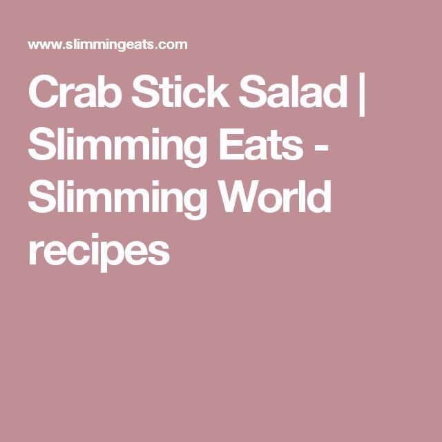 Crab Stick Salad | Slimming Eats - Slimming World recipes