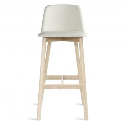 Modern White Leather Bar Stool with Back  sc 1 st  Pinterest & Best 25+ White leather bar stools ideas on Pinterest | Leather bar ... islam-shia.org