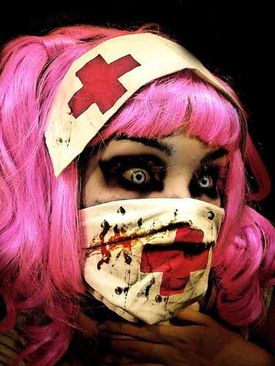 Scary Creepy Girl | Zombie Week- Zombie Pictures of the Day (7/25) | Girl Gone Geek Blog