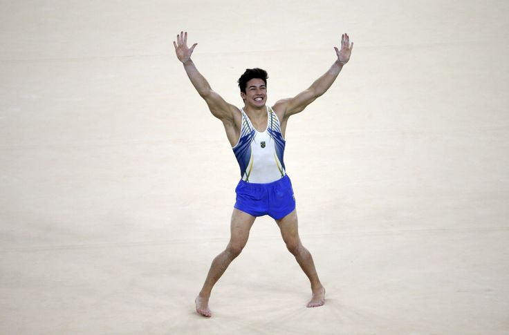 Arthur Mariano delighted the Rio Olympic Arena crowd in the men's all-around…