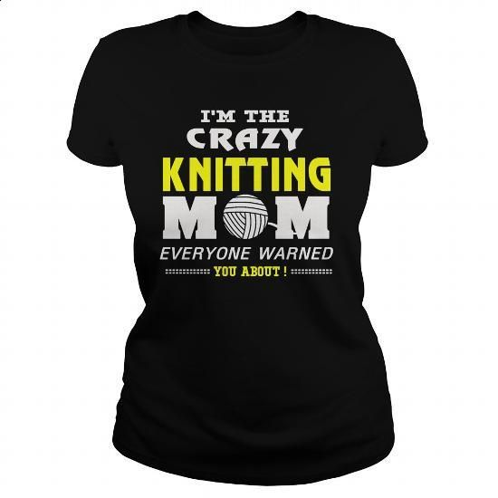 CRAZY KNITTING MOM - #t shirts for sale #red sweatshirt. MORE INFO => https://www.sunfrog.com/Hobby/CRAZY-KNITTING-MOM-Black-Ladies.html?60505