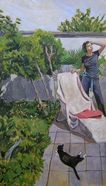 """Saatchi Art Artist Helena Janecic; Painting, """"The world is built for two"""" #art"""