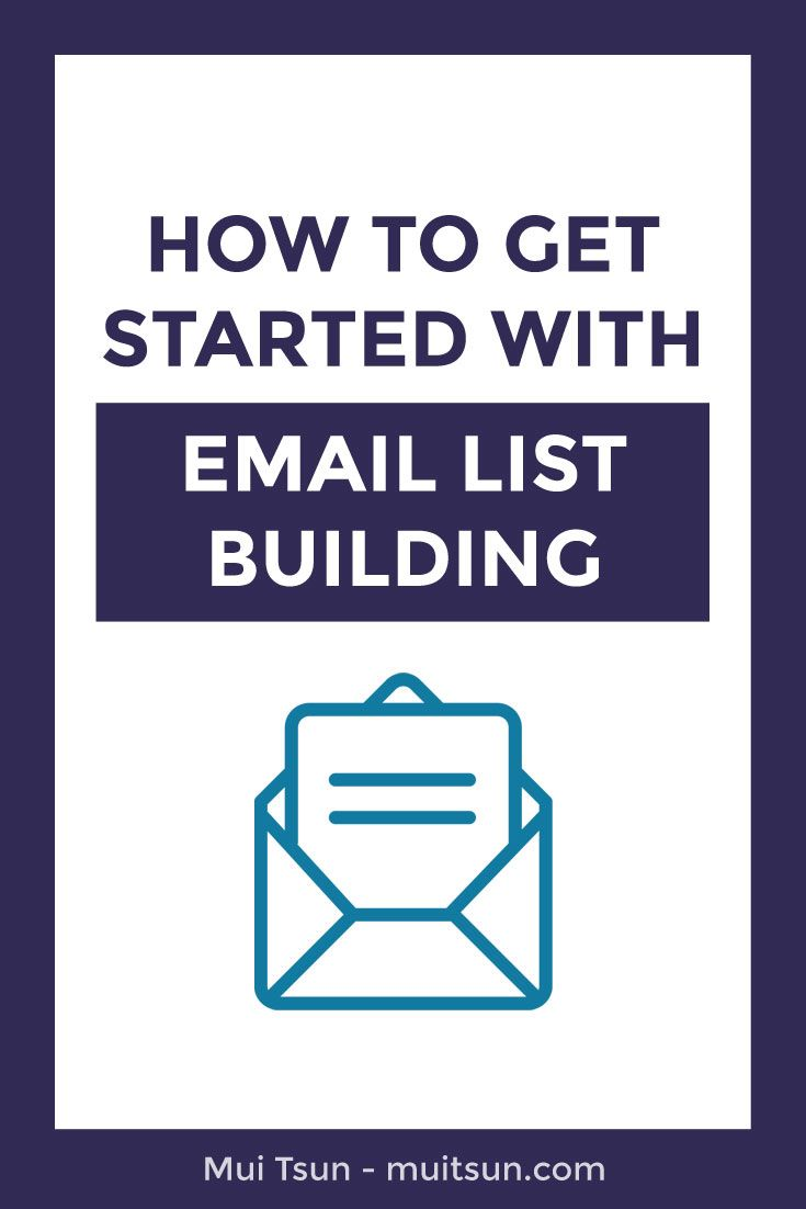 Want to get started with email list building? Click here to learn how.