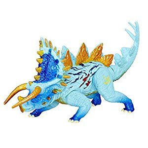 Amazon.com: Jurassic Park World Bashers & Biters Hybrid Stegoceratops Action Figure: Toys & Games