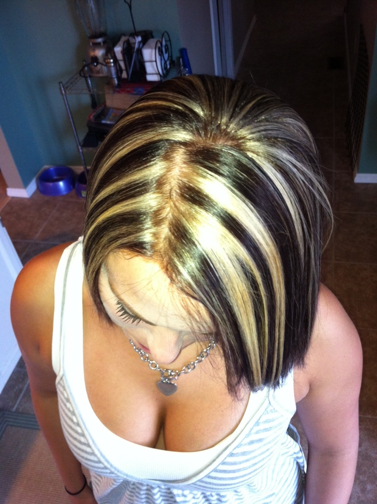 Brown With Blonde Highlights Highlights For Hair