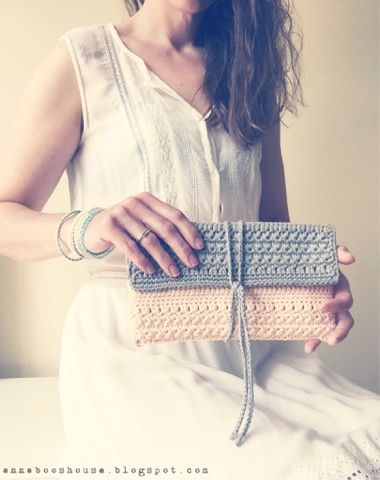 The one with a clutch bag and a workshop