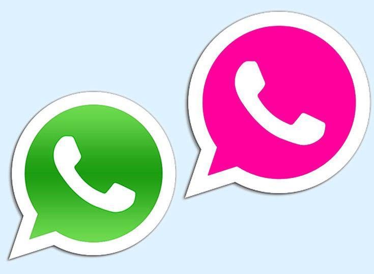 Ganz Einfach So Kannst Du Dein Whatsapp Logo Pink Einstellen Whatsapp Logo Pink Handy Hintergrund