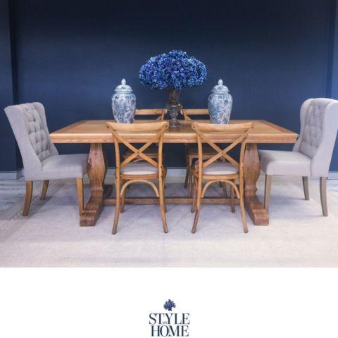 'ST REGIS' Oak Dining Table
