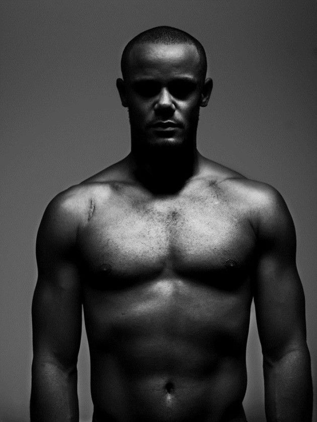 Vincent Kompany (1986) - Belgian professional footballer who plays for and captains both English club Manchester City and the Belgium national team.  Photo by Stephan Vanfleteren