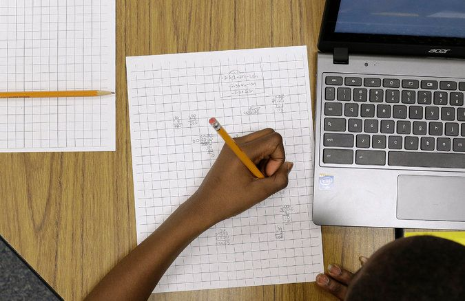 Nationwide Test Shows Dip in Students' Math Abilities - The New York Times