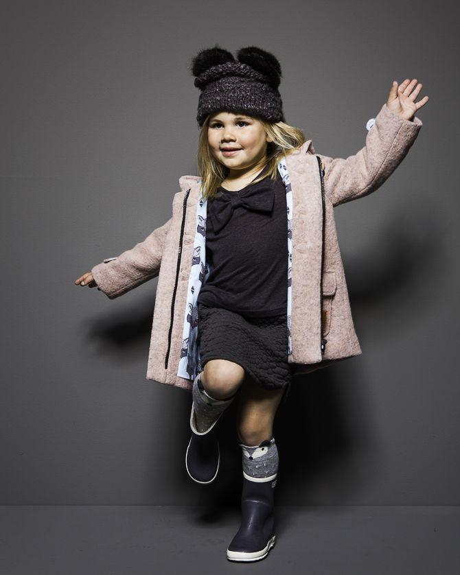 Mon Petit Loup | meisjes winterjassen 2015 new girls jacket brand from the Netherlands