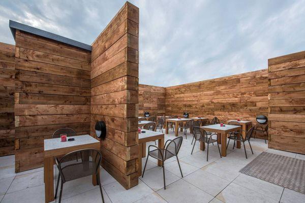 Vivo - Italiand resto, bar and bakery plus open air roof terrace. Upper St