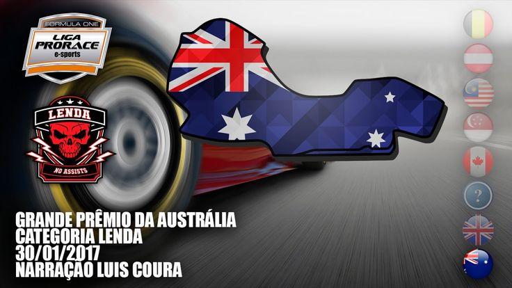 AO VIVO - F1 2016 - GP DA AUSTRÁLIA - CAT LENDA - LIGA PRORACE E-SPORTS ...
