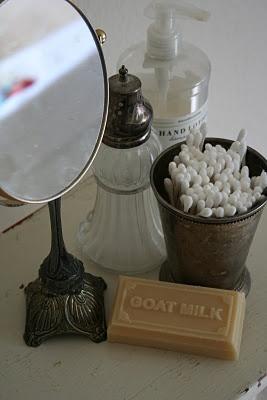 bathroom  http://farmhouseporch.blogspot.com/