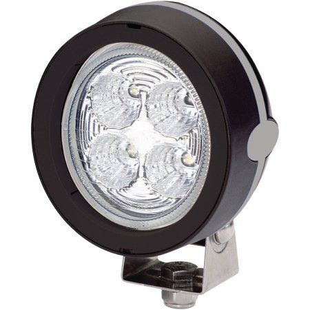 Hella 9-30V DC LED Mega Beam Deck Floodlight, Black