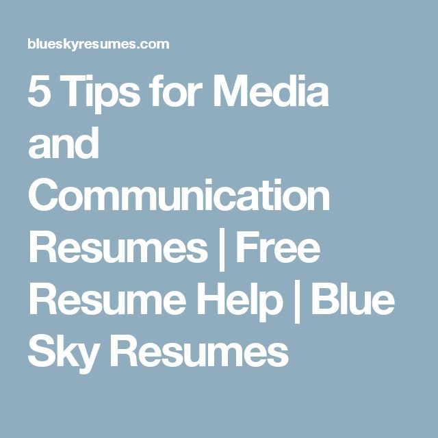 45 best Career images on Pinterest Career, Education and Events - blue sky resumes