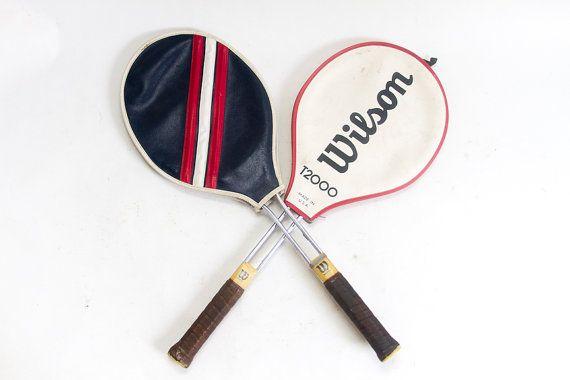Vintage Wilson Tennis Racket Tennis Rackets by lloydstreasures